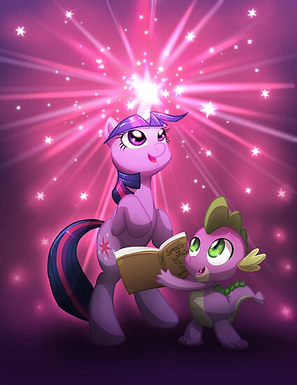 Twilight Sparkle Magic by AylaStarDragon