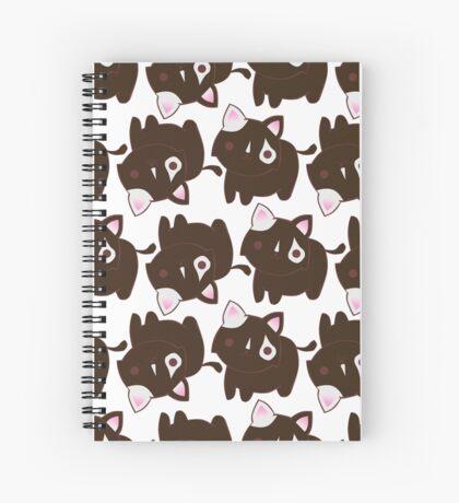 Choco Kitty Spiral Notebook