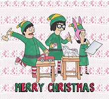 Bobs Burgers Christmas by laurajean1