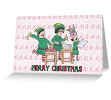 Bobs Burgers Christmas Greeting Card