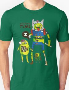 Adventure Time Finn and Jake Zombie T-Shirt