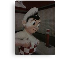 Frosted Big Boy Canvas Print
