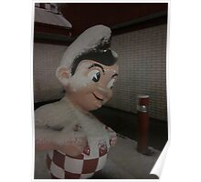 Frosted Big Boy Poster