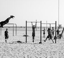 Muscle Beach California by Justine Gordon