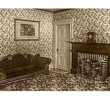 Downstairs Sitting Room, Lizzie Borden's House Photographic Print