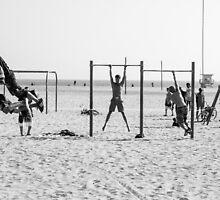 Muscle Beach California by Justine Gordon