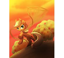 Applejack's Lasso Photographic Print