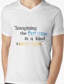 Futuristic Nostalgia Mens V-Neck T-Shirt