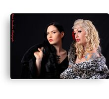 Liss and Katie Canvas Print