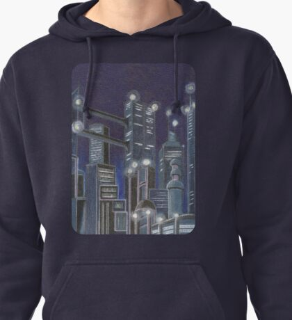 City In The Sky Pullover Hoodie