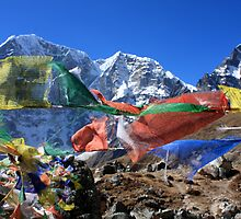 Prayer Flags in the Himalaya - Nepal by TravelShots