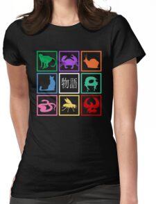 Monogatari Womens Fitted T-Shirt
