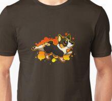 Corgi Splash - Tricolor Unisex T-Shirt