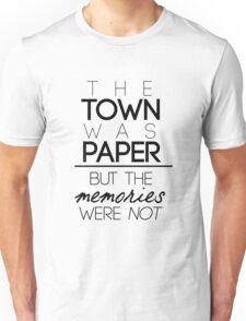 Paper Towns Quote Unisex T-Shirt