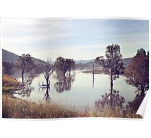 Lake Hume, Rural NSW Poster