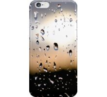 Rain Drops on window 3 iPhone Case/Skin