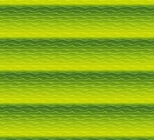 Green and Yellow Sand Dunes Abstract by pjwuebker