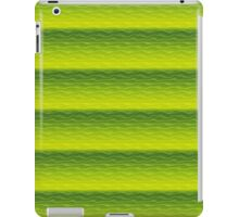 Green and Yellow Sand Dunes Abstract iPad Case/Skin
