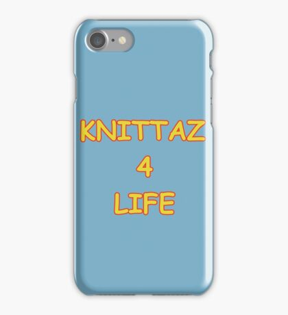 Knittaz 4 Life iPhone Case/Skin