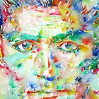 FRANZ KAFKA watercolor portrait.1 by lautir