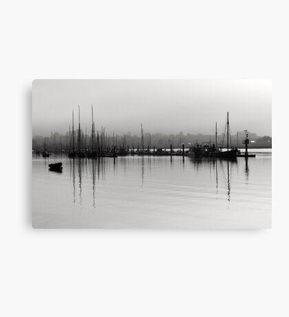 Tall Ship Reflections Brightlingsea Canvas Print