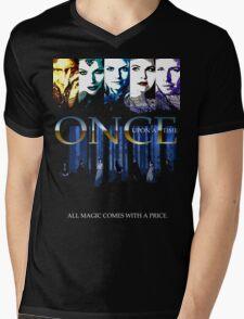 ONCE Mens V-Neck T-Shirt