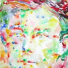 ARTHUR RIMBAUD watercolor portrait.1 by lautir