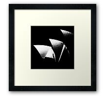 ICON - Sydney Opera House Framed Print