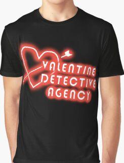 Valentine Detective Agency Graphic T-Shirt