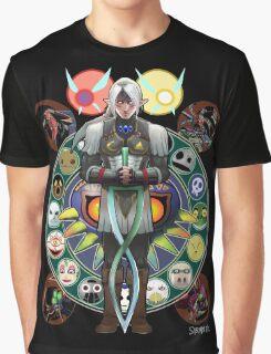 Art Nouveau Fierce Deity Link Graphic T-Shirt