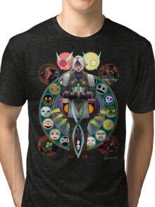 Art Nouveau Fierce Deity Link Tri-blend T-Shirt