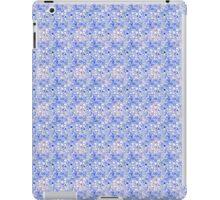 Digital Blue Bubbles on Pink iPad Case/Skin