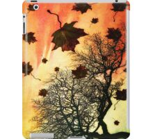Autums last fall ipad case iPad Case/Skin