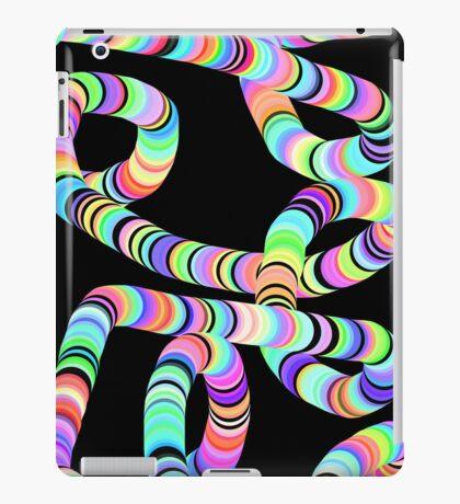 Colorful 3D Tube iPad Case/Skin