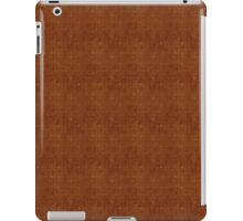 Circles Pattern in Brown iPad Case/Skin