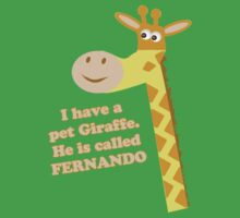 My Pet Giraffe by MrPeterRossiter