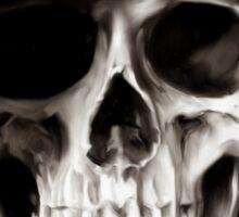 Reaper Skull Sticker