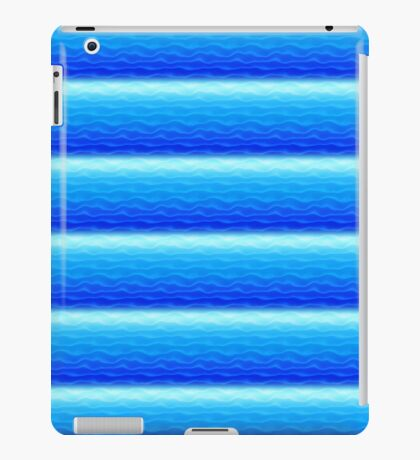 Blue Sand Dunes Abstract iPad Case/Skin