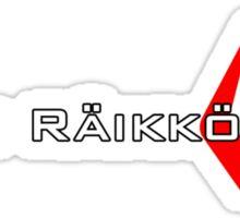 Kimi Raikkonen (Helmet Colours) Sticker