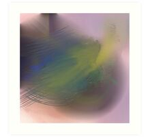 Abstract pastel 2 Art Print