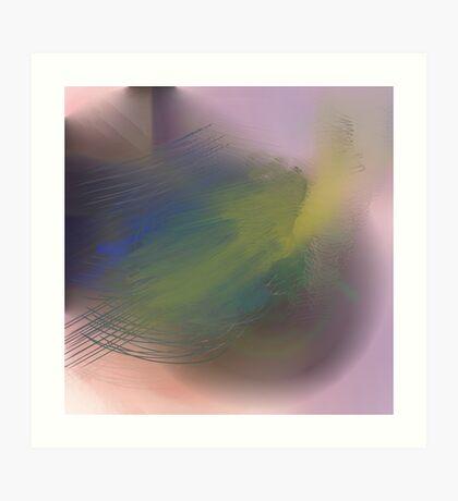 Abstract pastel 2 Art Print