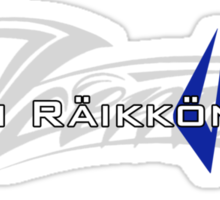 Kimi Raikkonen - Iceman (Finland Colours) Sticker