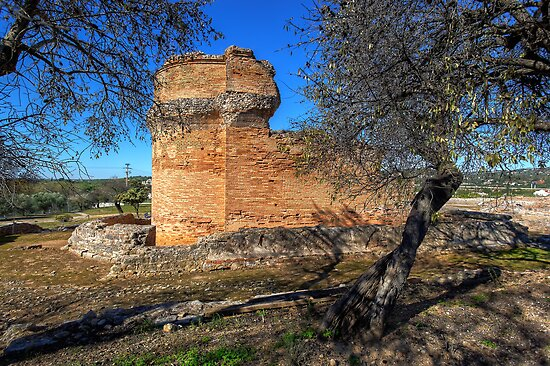Roman Temple at Milreu by manateevoyager