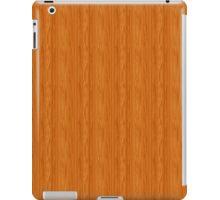 Amber Wood Grain iPad Case/Skin