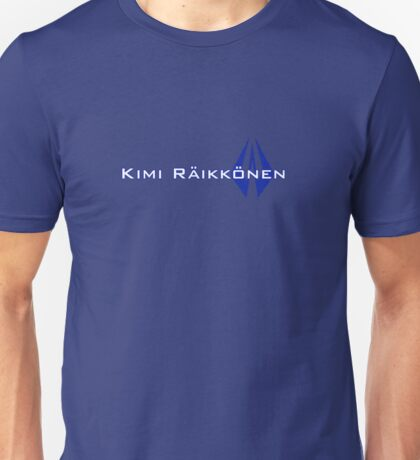 Kimi Raikkonen (Finland Colours) Unisex T-Shirt
