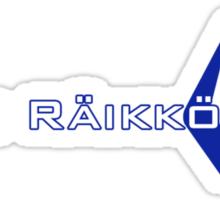 Kimi Raikkonen (Finland Colours) Sticker