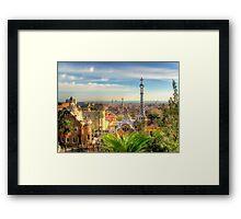 """Parc Guell"" (Barcelona) Framed Print"