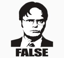 Dwight Schrute - False by Weeknd