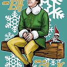 Elf on an Elf on a Shelf by Patrick Scullin