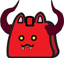 Cute Diablo CatBag by Constanzze